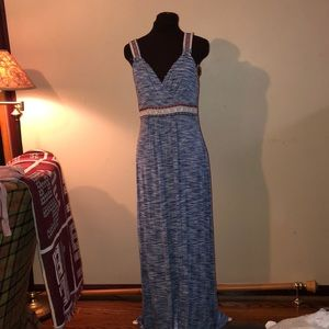 SIZE LARGE Spense Women's Full length summer dress